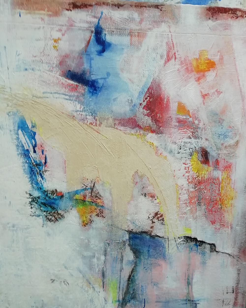 Tenue D Artiste Peintre artiste peintre plasticienne - cliousclat, drôme - evelyne
